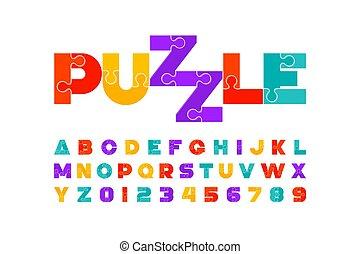 lettertype, raadsel