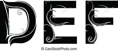 lettertype, type, artistiek