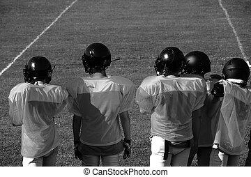 lettori, football americano