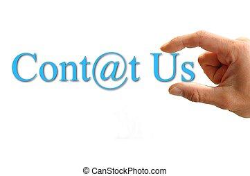 lettrage, nous contacter