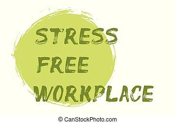 lettrage, tension, -, gratuite, main, lieu travail