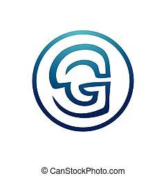 lettre g, illustration