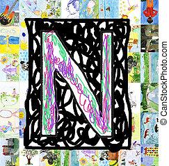 lettre, n.