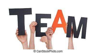lettres, équipe