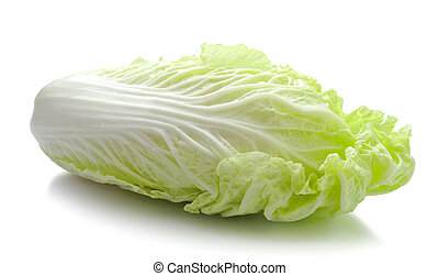 Lettuce heart on a white background
