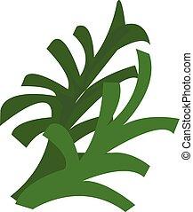 Lettuce icon, cartoon style - Lettuce icon. Cartoon of...