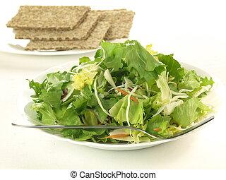 Lettuce snack