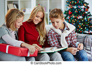 lettura, insieme