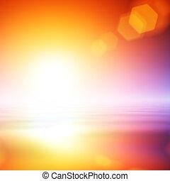 leuchtsignal, abstrakt, hintergrund