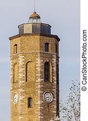 Leughenaer Tower in Dunkirk
