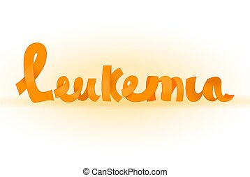 Leukemia lettering image - Leukemia lettering made from ...