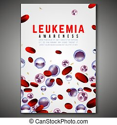 Leukemia Vertical Background - Leukemia vertical poster....