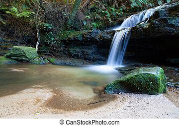 leura, cascadas