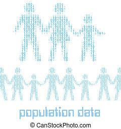 leute, familie, digital, statistik, bevoelkerung, daten