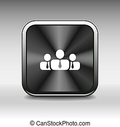 leute, ikone, geschäftskommunikation, beziehungen, gruppe