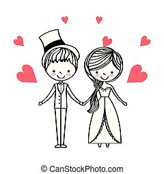 leute, tag, wedding