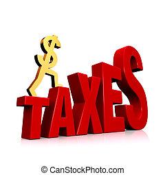 levée, impôts