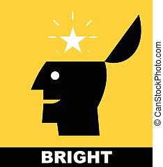 levée, star., genius., bright.