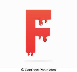 levél f, jel, vagy, jelkép, ikon