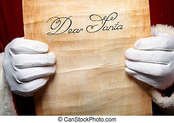 levél santa