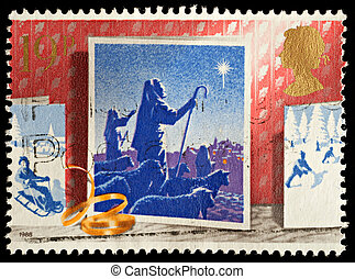 levélbélyeg, karácsony
