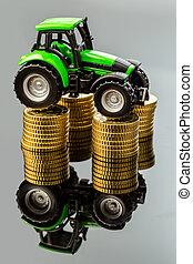 levantamiento, costes, Agricultura