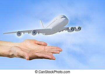 levegő szállítás