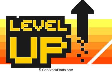 level up arrow icon