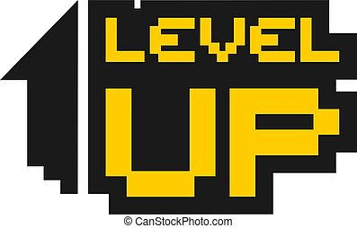 level up symbol
