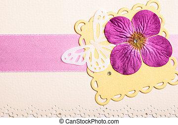 levelezőlap, esküvő invitation