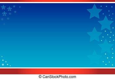 levelezőlap, kék, csillaggal díszít