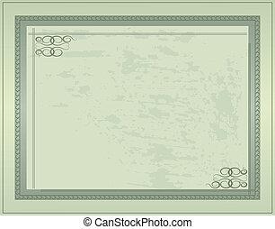 levelezőlap, szüret, 1, vektor