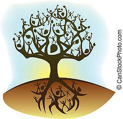 leven, boompje