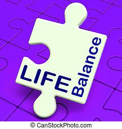 leven, evenwicht, middelen, gezin, carrière, en, gezondheid
