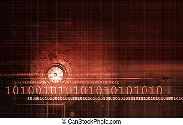 leven, technologie, cyclus