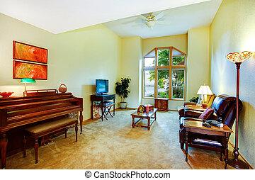 levend, piano, kamer