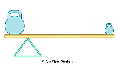 Lever beam illustration