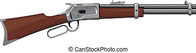 Lever Rifle Winchester rifle that won the West