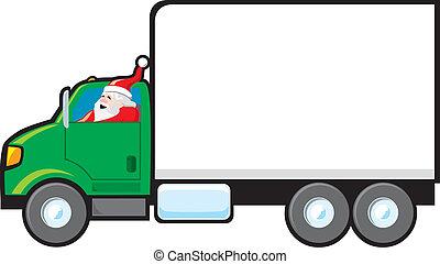 leverans, tillverkning, jultomten