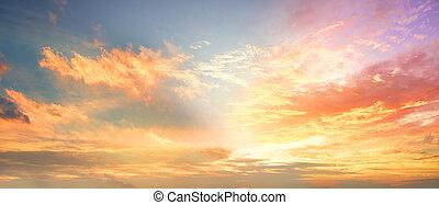 /, levers de soleil, mondiale, nuages, concept:sunset, ...