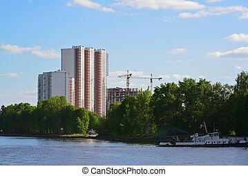 Levoberezhny district in Khimki city, Russia - Eco-friendly ...