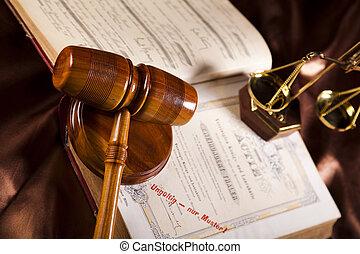ley, y, justicia
