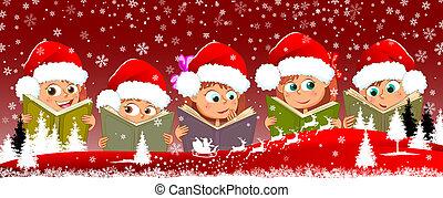 lezen, 1, boekjes , kerstmis, kinderen