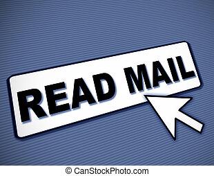 lezen, post