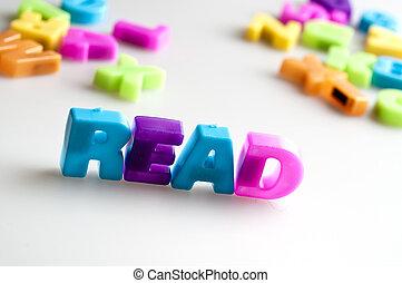 lezen, woord