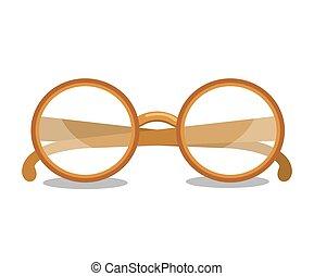 lezende glazen, ontwerp
