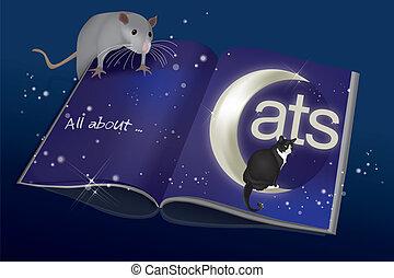 lezende , muis