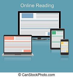 lezende , online