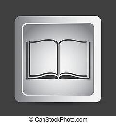 lezende , pictogram