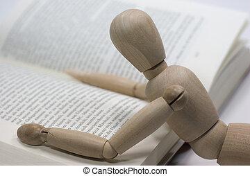lezende tijd